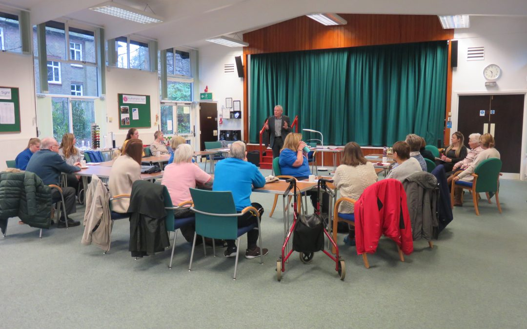 Partnership working with RNIB – Living with Sight Loss