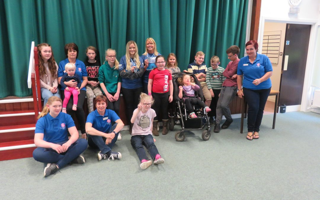 Marathon runners visit Children & Young Peoples group